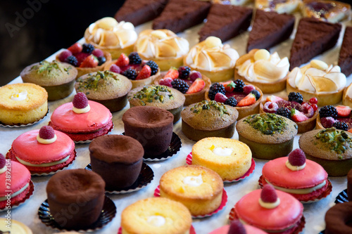 selection of cakes - 73892154