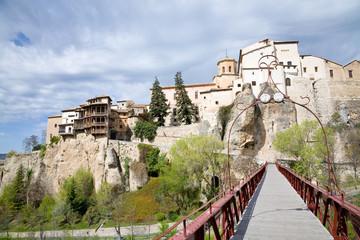 Cityscape Cuenca, Spain
