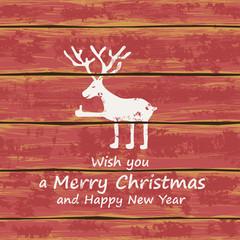 Christmas funny deer