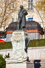 Madrid, Francisco de Goya, Mariano Benlliure