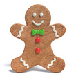 3d illustration of a Gingerbread man - 73895514