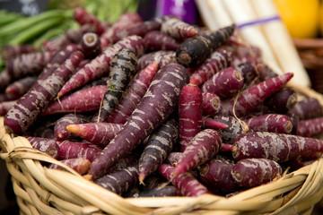 purple carrots