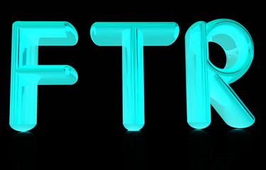 """""""FTR"""" 3d text"""