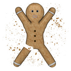 Gingerbread Man amputed !