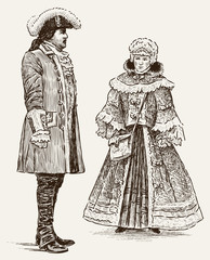 people of 18th century