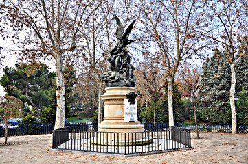 Madrid, monumento al pueblo del 2 de Mayo de 1808