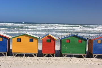 muizemberg spiaggia città del capo sudafrica