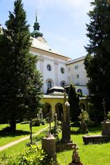 Historischer Friedhof in Salzburg