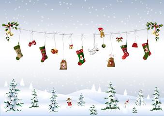 Weihnachten an der Leine