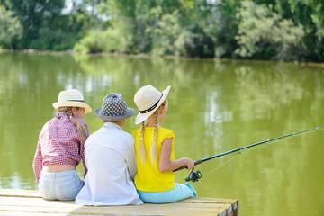 Summer fishing