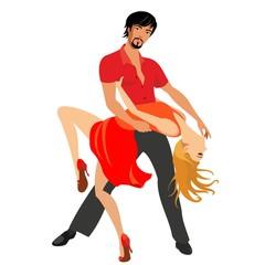 latin dancing figures