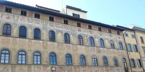 Florenz, Bemalte Fassade