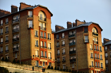 immobilier de banlieue