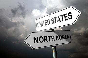 United States and North Korea directions.