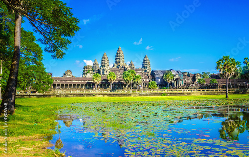 Papiers peints Autre Amazing view of Angkor Wat tample, Siem Reap, Cambodia