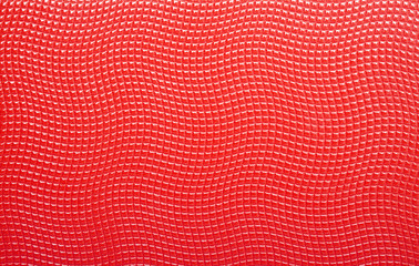 Red leather label, abstract background