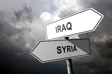 Iraq and Syria directions.
