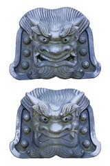 天龍寺の鬼瓦