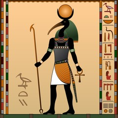 Religion of Ancient Egypt. Thoth.