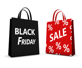 Black Friday Sale Shopping Bag