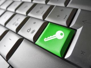 Access Key Security Symbol