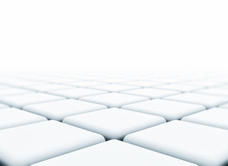 DIgital abstract 3d cubes