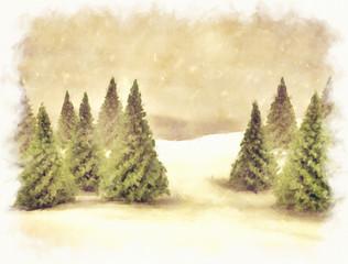 Christmas season background