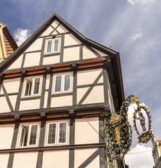 Alte deutsche Häuser in Quedlinburg 06615