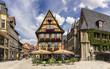 Alte deutsche Häuser in Quedlinburg 06592