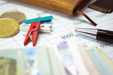 Caja, administración y contabilidad