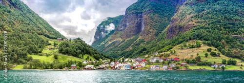 Staande foto Scandinavië Sognefjord in Norway