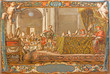 Seville - fresco as Emperor Constantine on council in Nicaea - 73913914