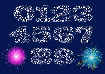 Shiny Numbers Set