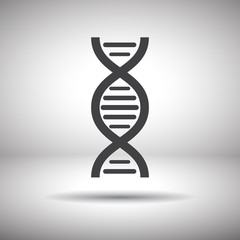 dna chain vector icon