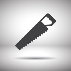hacksaw vector icon