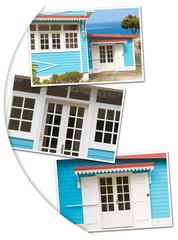 photos maison créole