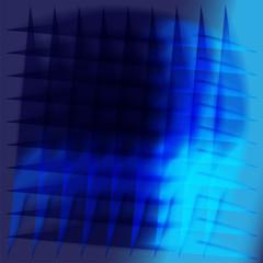 Beauty concept blue background design