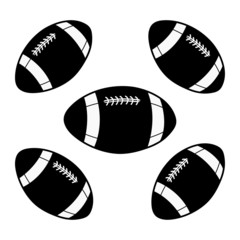 rugby ball illustration