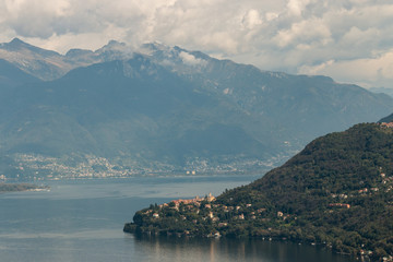 Lake Maggiore in Piedmont