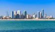 Skyline of Manama city, Bahrain, Middle East - 73916187