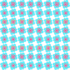 seamless flower pattern background