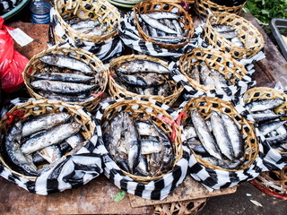 Fisherman stall