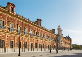 Seville - The Palace of San Telmo (Palacio San Telmo)