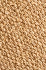 Coconut fiber mat