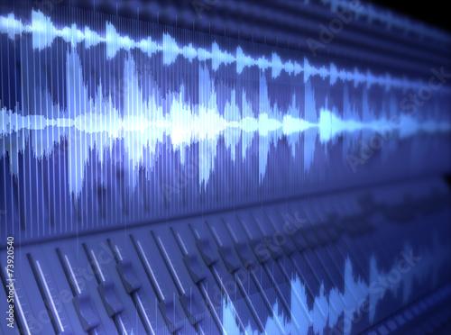 Leinwanddruck Bild Waves
