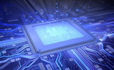 Light from Microchip