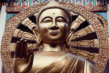 Statue of Buddha in Thailand, island Koh Samui