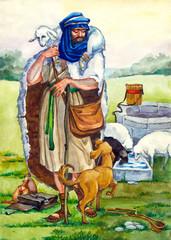Ancient Israel. Shepherd
