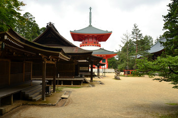 Temples of Mount Koya