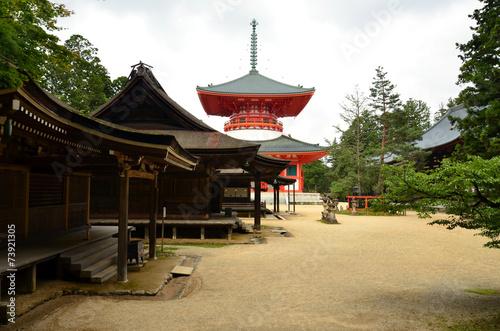 Temples of Mount Koya - 73921305